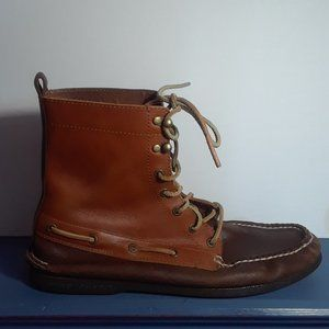 Vintage Sperry Top-Sider Tall Boots, Size: 12